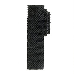Bubble knit tie
