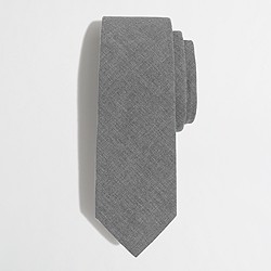 Factory suiting tie