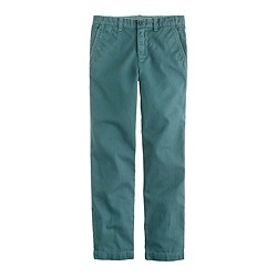 Boys' sun-faded chino