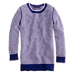 Collection cashmere waffle sweater