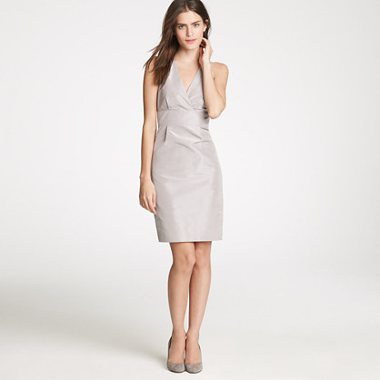 Alisanne dress in silk taffeta