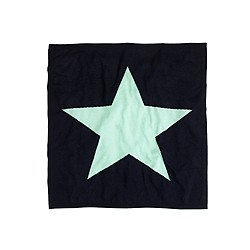 Collection cashmere baby blanket in star