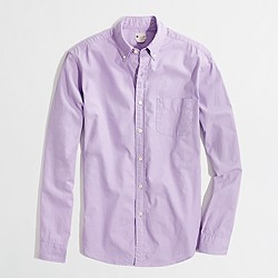 Factory sunwashed oxford shirt