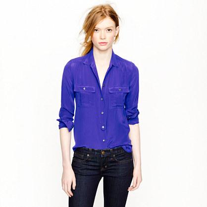 Blythe blouse in silk