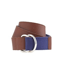 Boys' reversible belt