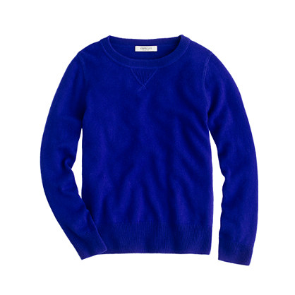 Kids' collection cashmere sweatshirt