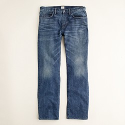 Bootcut jean in indigo medium worn wash