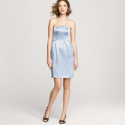Darlene dress in satin