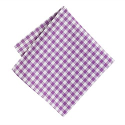 Thomas Mason® for J.Crew pocket square in gingham