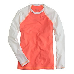 Colorblock sun shirt