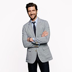 Unconstructed Ludlow Fielding sportcoat in Italian oxford cloth
