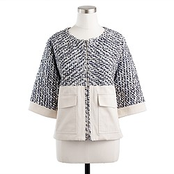 Collection tweed dolman jacket