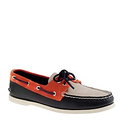 Sperry Top-Sider® for J.Crew Authentic Original 2-eye boat shoes in leather and suede