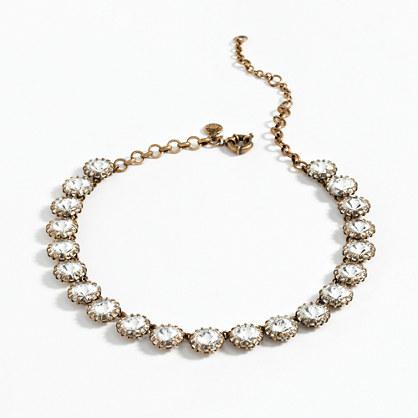 Crystal Venus flytrap necklace
