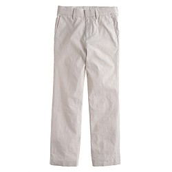 Boys' Ludlow suit pant in seersucker
