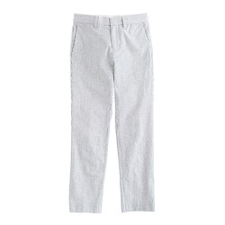 Boys' slim Ludlow suit pant in seersucker