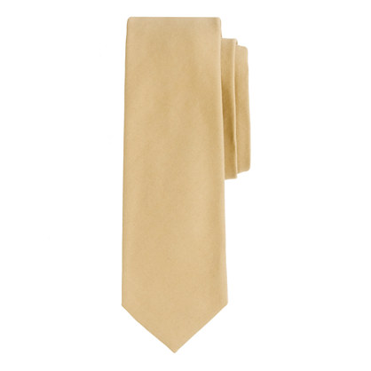 Italian cotton chino tie