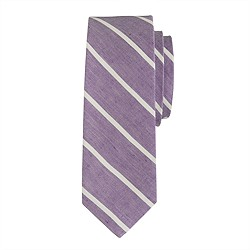 English linen Thin-stripe tie