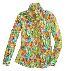Liberty perfect shirt in Tresco floral