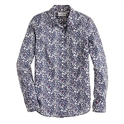 Liberty perfect shirt in June's Meadow floral