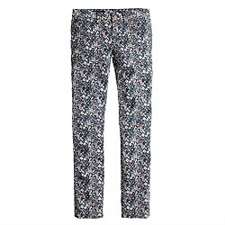 Liberty toothpick jean in June's Meadow floral