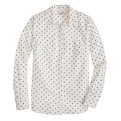 Petite boy shirt in dots