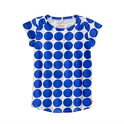 Girls' supersoft dot tee