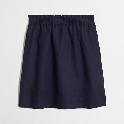 Factory linen-cotton mini