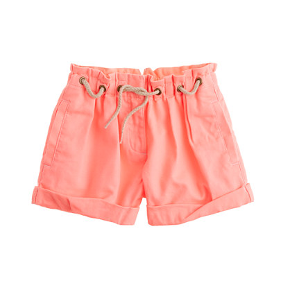 Girls' set sail short