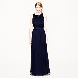 Rosa gown in silk chiffon
