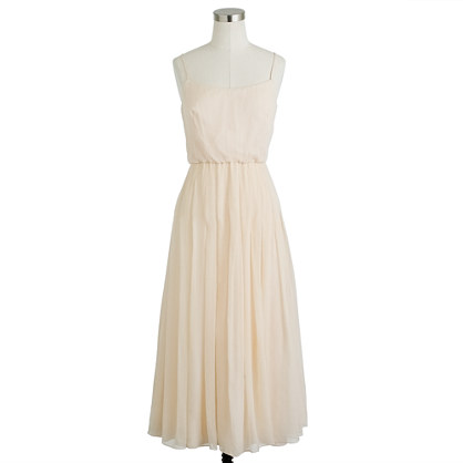 Carmela dress in silk chiffon
