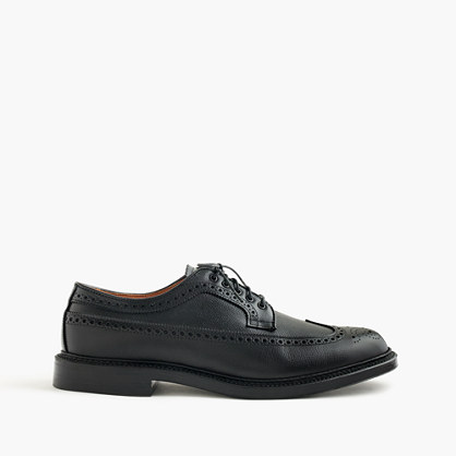 Limited-edition Alden® for J.Crew black alpine longwing bluchers