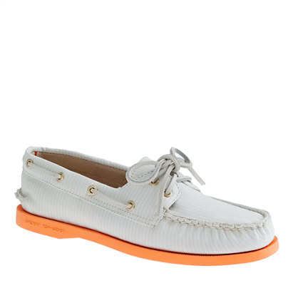 Sperry Top-Sider® for J.Crew Authentic Original 2-eye boat shoes in stripe