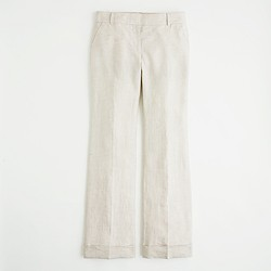 Factory suiting trouser in linen