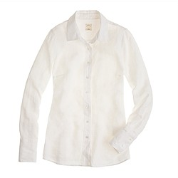 Petite perfect shirt in linen