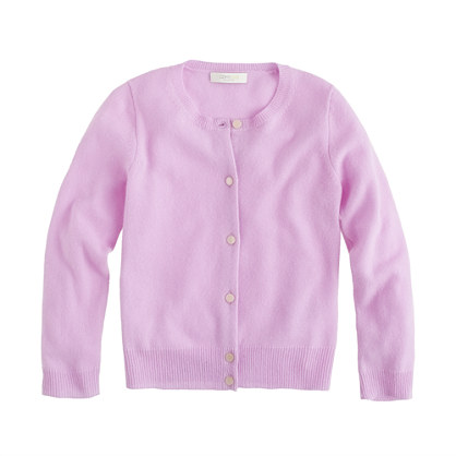Girls' Collection cashmere cardigan