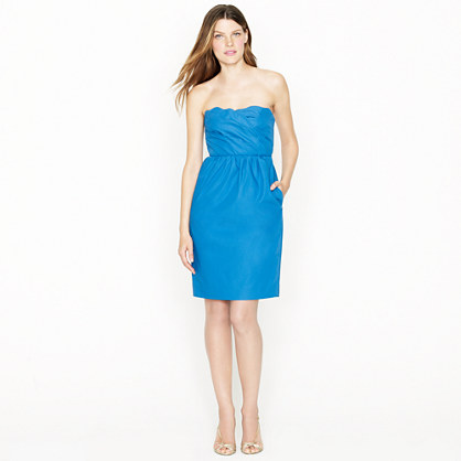 Samantha dress in cotton taffeta
