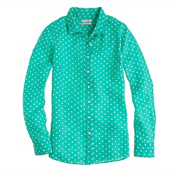 Perfect shirt in linen dot