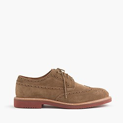 Kenton suede wing tips
