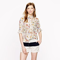 Liberty popover in floral eve
