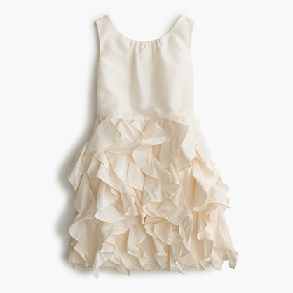 Girls' taffeta Lyla dress