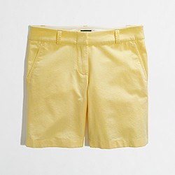 "Factory 7"" oxford chino short"
