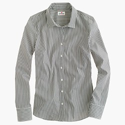 Tall stretch perfect shirt in classic stripe