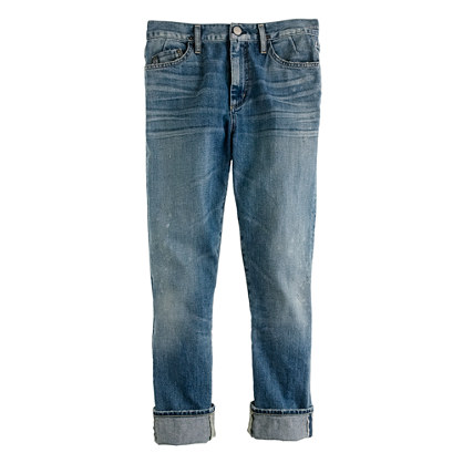Goldsign® for J.Crew Jeane jean in fountain wash