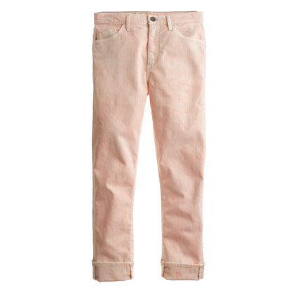 Goldsign® for J.Crew Jeane jean in peach wash