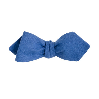 Irish linen bow tie