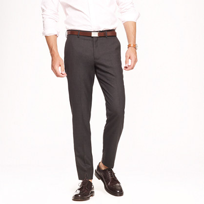 Ludlow slim suit pant in Italian wool