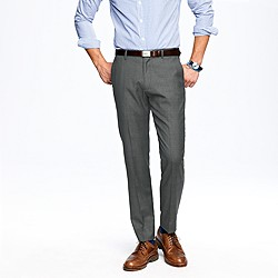 Ludlow classic suit pant in glen plaid Italian wool
