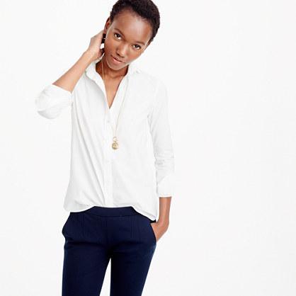 Boy shirt in classic white