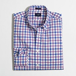 Factory slim lightweight shirt in multi-pattern